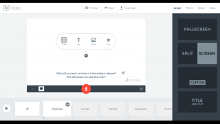 Pop-up prompts are used strategically to guide users through the features.