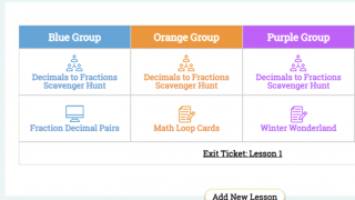 Differentiated lesson plans tailored for your classroom are created in a matter of minutes.