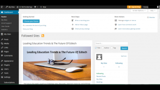 Teacher dashboards are easy to navigate when creating, updating, and searching.