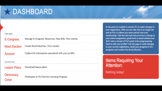 The teacher dashboard offers options for downloading resources and managing activities.