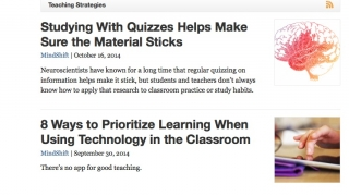 A range of topics cover issues related to teaching and instruction.