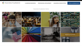 Browse resources for eight major topics from the homepage.