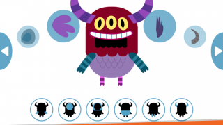 Design your own monster and choose rewards.