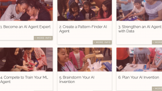 Artificial intelligence lessons are well designed.
