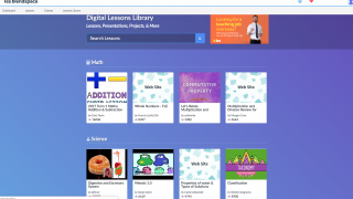 Explore the Digital Lessons Library to find and remix projects created by educators and students.