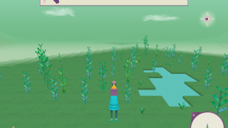 Players explore areas that have water nearby and pick up fruit to attract members to their Pack.