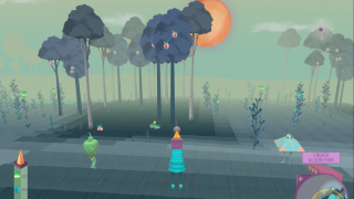 The game transitions from night to day to night, all while players collect more food and more Pack members.