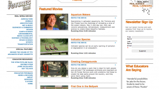 The main page showcases the current free video selection.