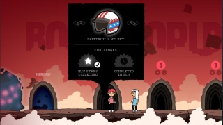 Solve puzzles, collect death objects, and complete levels.