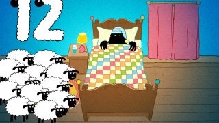 Count 12 sheep to put the beast to sleep and end the game.