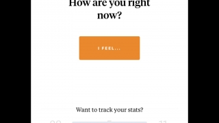 Jump in to mark your current mood; create an account to track moods over time.