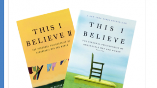 Some schools use the This I Believe books as part of their curriculum.