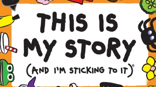 Pair thematic backgrounds with stickers to form stories.