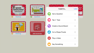 Older students can create their own simple games, too.