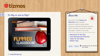 The Tizmos blog offers educational tips and ideas.