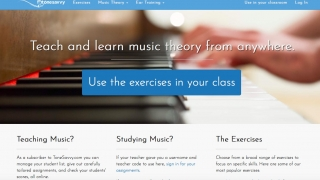 ToneSavvy is a website featuring music theory and ear training exercises.