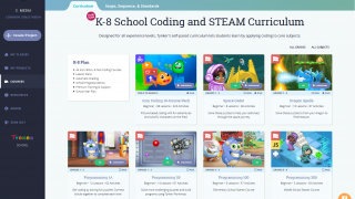 Well-put-together curricula are aimed at different grade levels.
