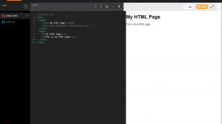 ... and web development in HTML and CSS.