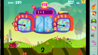 Games help kids learn math skills like addition.