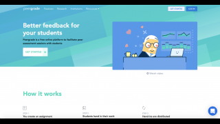Peergrade is a tool that helps teachers facilitate peer grading in their classrooms.