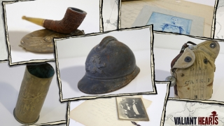 Find WWI objects, items, artifacts, gear, equipment, and paraphernalia along the way, providing further in-depth descriptions of WWI life.