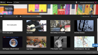 Threads may include tutorials, videos, podcast-type broadcasts, and other media.
