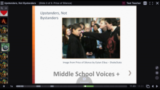 Listening to and adding to existing VoiceThreads is an effective way to interact with content.