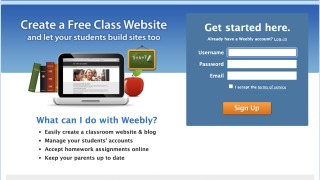 The sign-up page is a bit outdated and can be glitchy, but there's not a lot of information required.
