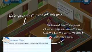 A thorough tutorial helps students get started.