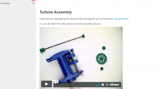 Students can choose to build their design or print it on a 3D printer.