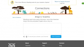 Whooo's Reading is a classroom tool for tracking and evaluating students' independent reading.