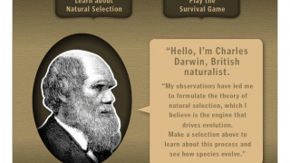 Charles Darwin himself instructs students on how to choose genetic variations in their population.
