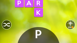 Use available letters to solve a crossword-like puzzle.