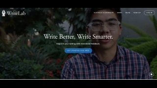 WriteLab is a tool for helping K–12 and college students improve their writing.