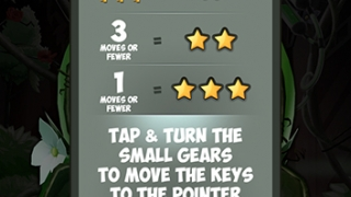 Each puzzle describes how many keys must be collected and how many stars kids can earn.