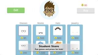 Rewards can be purchased at the Student Store.