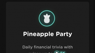"""There are daily, live trivia games called """"pineapple parties."""""""