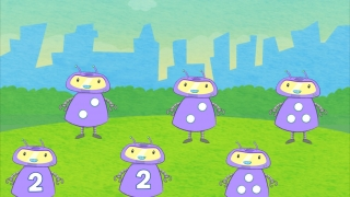 A second set of levels introduces numerals.