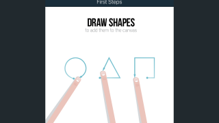 Grafio turns users' drawings into shapes.