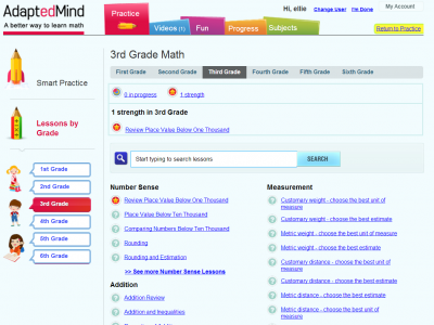 math worksheet : adaptedmind educator review  common sense education : Adaptedmind Math Worksheets