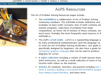 Art of problem solving wiki