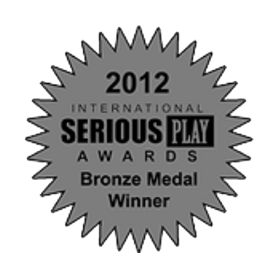 Serious Play Awards Bronze Medal Winner, 2012