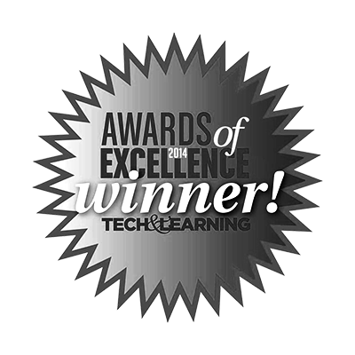 Tech & Learning Award of Excellence, 2014